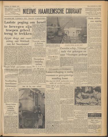 Nieuwe Haarlemsche Courant 1957-02-23