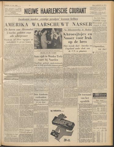 Nieuwe Haarlemsche Courant 1958-07-19