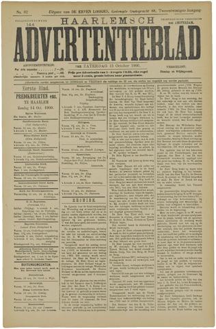 Haarlemsch Advertentieblad 1900-10-13