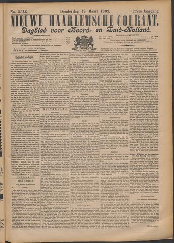 Nieuwe Haarlemsche Courant 1903-03-19