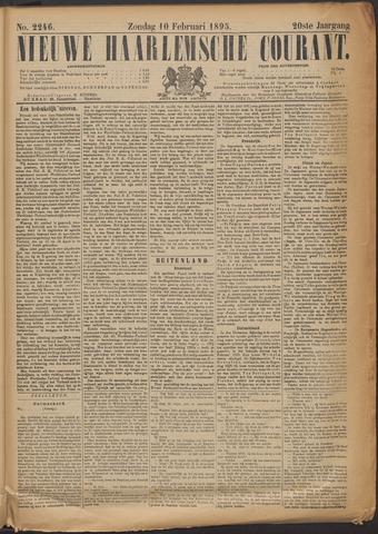Nieuwe Haarlemsche Courant 1895-02-10