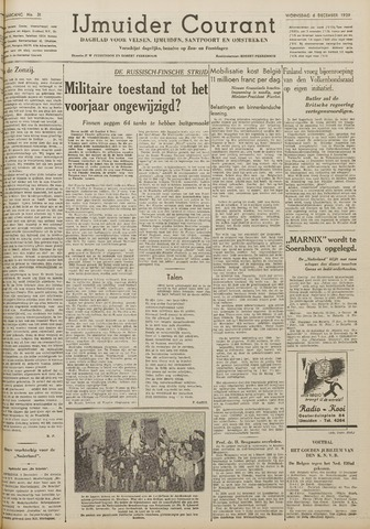 IJmuider Courant 1939-12-06