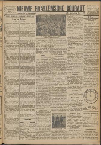 Nieuwe Haarlemsche Courant 1923-04-19