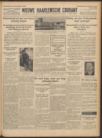 Nieuwe Haarlemsche Courant 1936-03-25