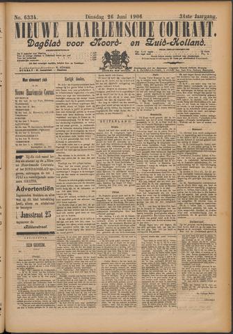 Nieuwe Haarlemsche Courant 1906-06-26