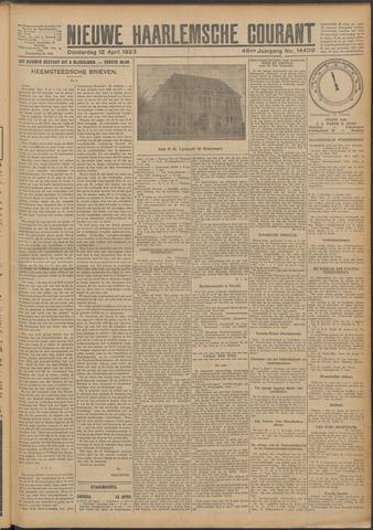 Nieuwe Haarlemsche Courant 1923-04-12
