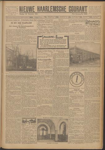 Nieuwe Haarlemsche Courant 1924-11-25