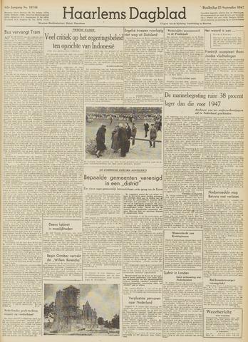 Haarlem's Dagblad 1947-09-25