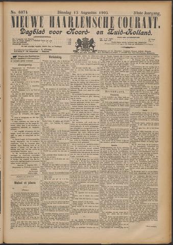 Nieuwe Haarlemsche Courant 1905-08-15