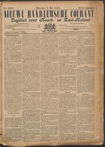Nieuwe Haarlemsche Courant 1898-05-09