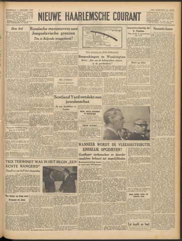 Nieuwe Haarlemsche Courant 1949-09-01