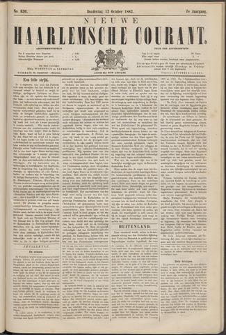 Nieuwe Haarlemsche Courant 1882-10-12