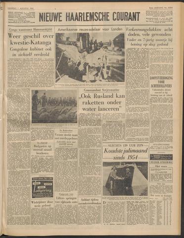 Nieuwe Haarlemsche Courant 1960-08-01