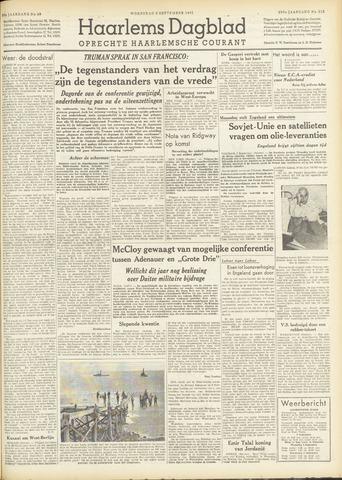 Haarlem's Dagblad 1951-09-05