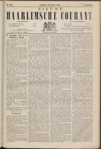 Nieuwe Haarlemsche Courant 1882-10-26