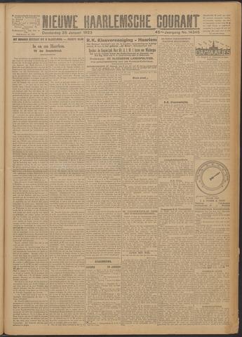 Nieuwe Haarlemsche Courant 1923-01-25