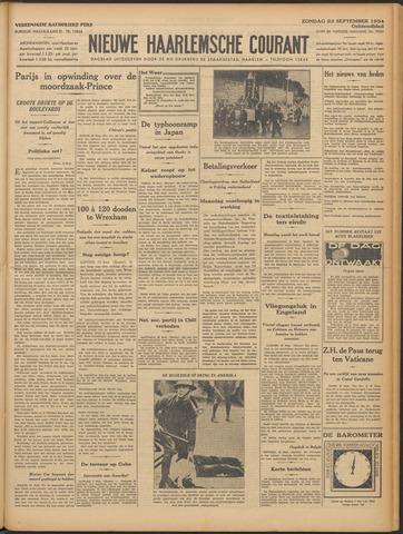 Nieuwe Haarlemsche Courant 1934-09-23