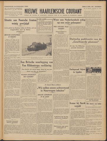 Nieuwe Haarlemsche Courant 1940-04-28
