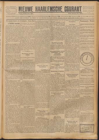 Nieuwe Haarlemsche Courant 1927-11-18
