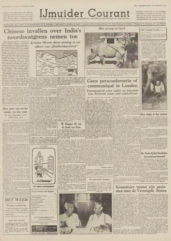 IJmuider Courant 1959-09-01