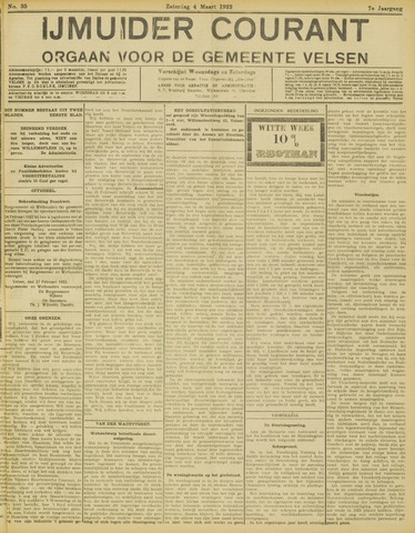 IJmuider Courant 1922-03-04