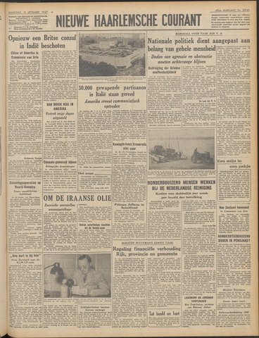 Nieuwe Haarlemsche Courant 1947-09-15