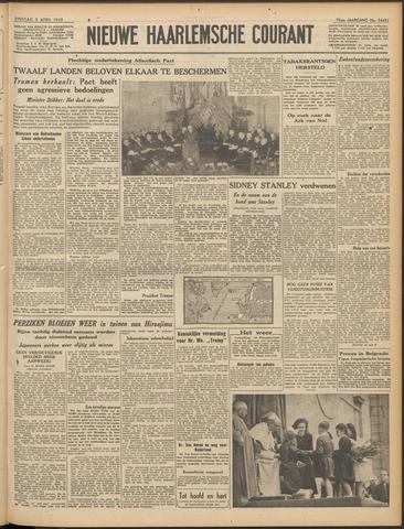 Nieuwe Haarlemsche Courant 1949-04-05