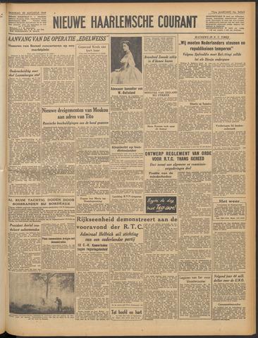 Nieuwe Haarlemsche Courant 1949-08-22