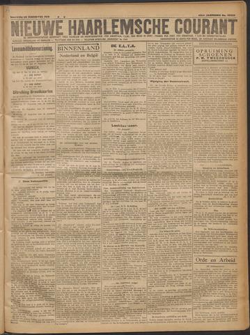 Nieuwe Haarlemsche Courant 1919-08-22