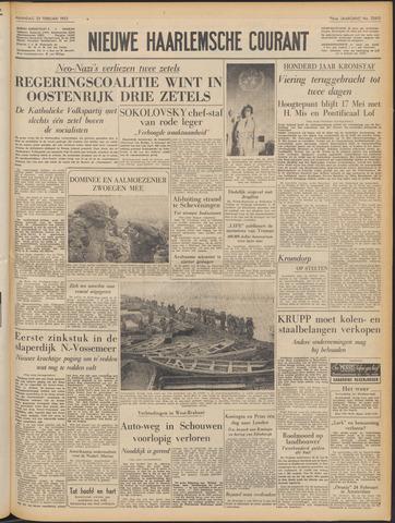 Nieuwe Haarlemsche Courant 1953-02-23