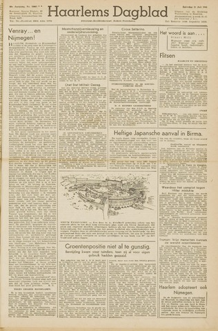 Haarlem's Dagblad 1945-07-21