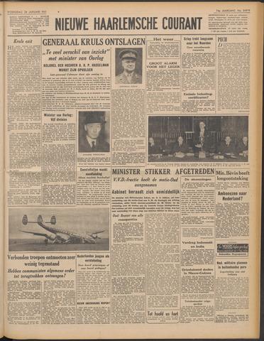 Nieuwe Haarlemsche Courant 1951-01-24