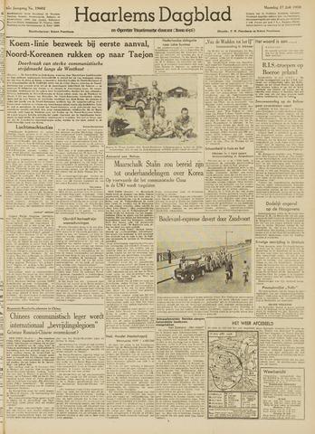 Haarlem's Dagblad 1950-07-17
