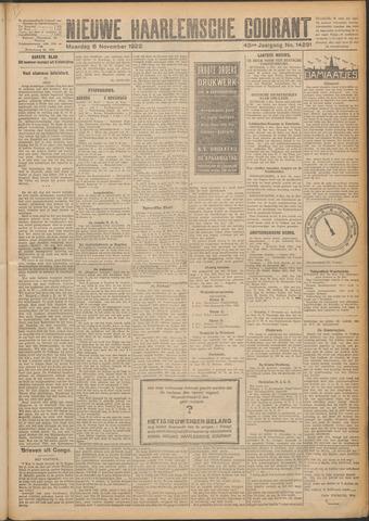 Nieuwe Haarlemsche Courant 1922-11-06