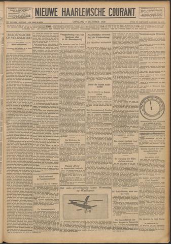 Nieuwe Haarlemsche Courant 1928-10-09