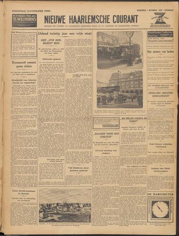 Nieuwe Haarlemsche Courant 1938-12-01