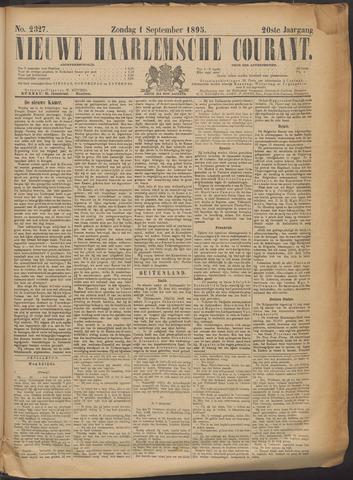 Nieuwe Haarlemsche Courant 1895-09-01