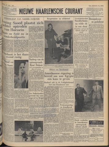 Nieuwe Haarlemsche Courant 1957-04-27