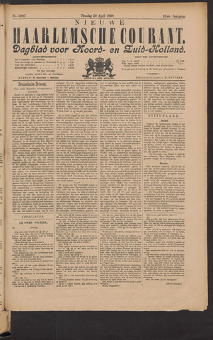 Nieuwe Haarlemsche Courant 1898-04-26