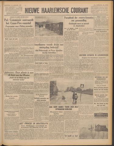 Nieuwe Haarlemsche Courant 1951-01-15
