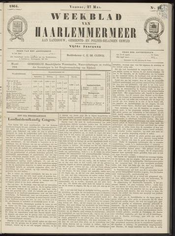 Weekblad van Haarlemmermeer 1864-05-27