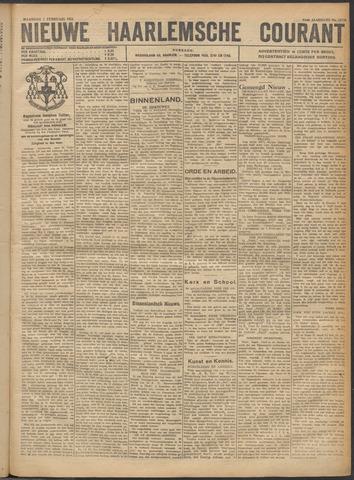 Nieuwe Haarlemsche Courant 1921-02-07