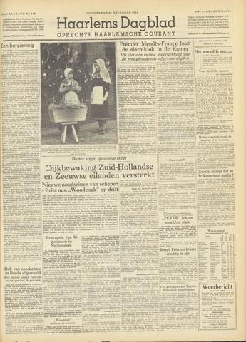 Haarlem's Dagblad 1954-12-23