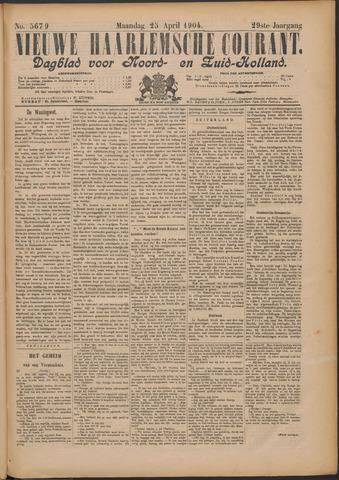 Nieuwe Haarlemsche Courant 1904-04-25
