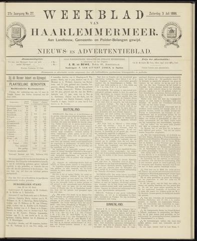 Weekblad van Haarlemmermeer 1886-07-03
