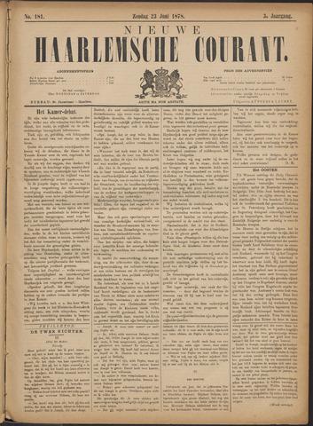 Nieuwe Haarlemsche Courant 1878-06-23