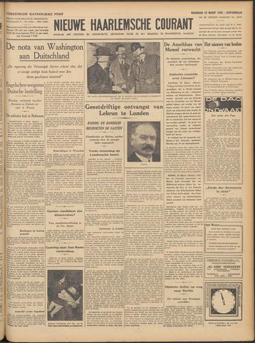 Nieuwe Haarlemsche Courant 1939-03-22