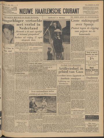 Nieuwe Haarlemsche Courant 1956-04-13