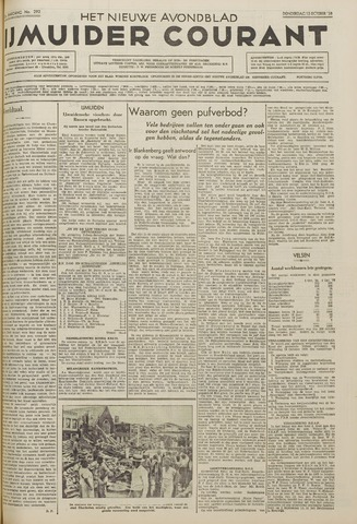 IJmuider Courant 1938-10-13