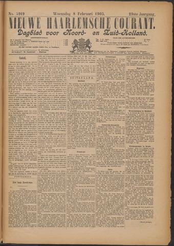 Nieuwe Haarlemsche Courant 1905-02-08